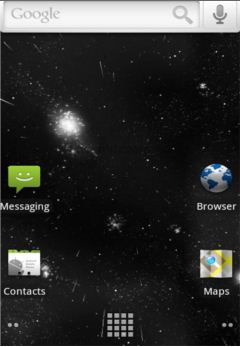 Starfield 3D Live Wallpaper