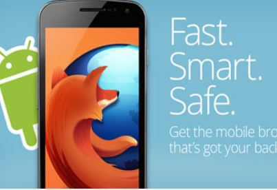 Firefox for Android is the free web browser