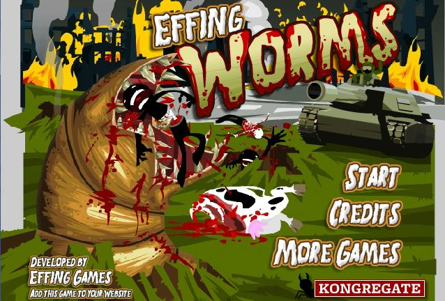 games online Effing Worms